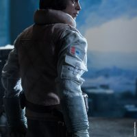 Commander Luke Skywalker Hoth Sixth-Scale Figure Back View