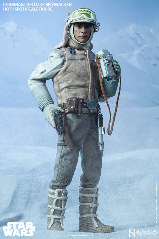 Commander Luke Skywalker Hoth Sixth Scale Figure