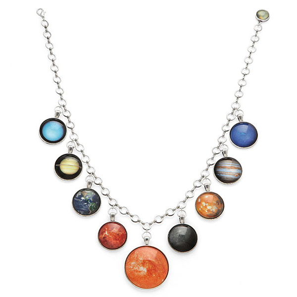 Complete Solar System Necklace