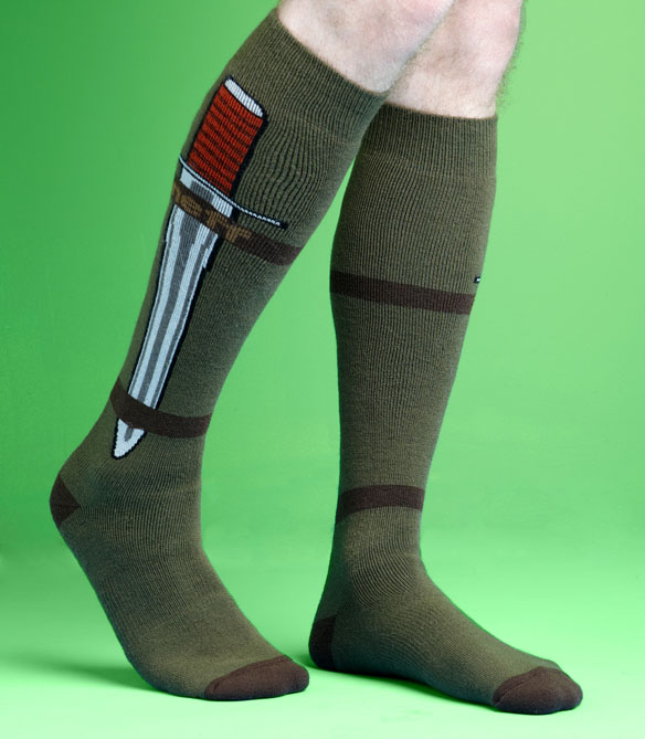 Concealed Knife Socks