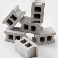 Concrete Block Magnet Set