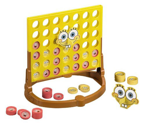 Connect 4 Spongebob Edition Game