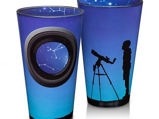 Constellation Window Pint Glass