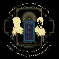 Consulting Detective and Time Travel Investigator Shirt