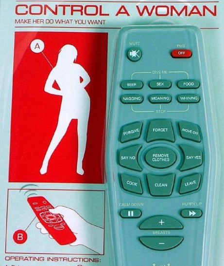 Control Your Woman Remote Controller
