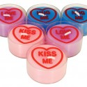 Conversation Hearts Tea Lights
