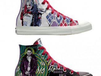 2234ef29f1c Converse Custom Chuck Taylor Suicide Squad High-Top Shoes