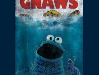 Cookie Monster Gnaws