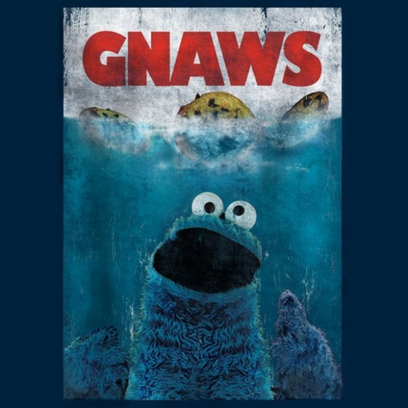 Cookie Monster Gnaws T-Shirt