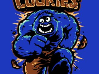 Cookies Hulk and Cookie Monster Mash Up T Shirt