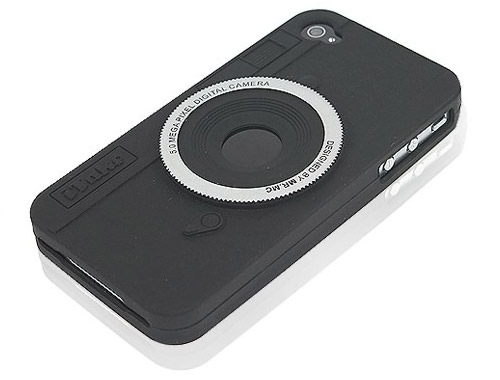 Cool Camera Design Silicone Case
