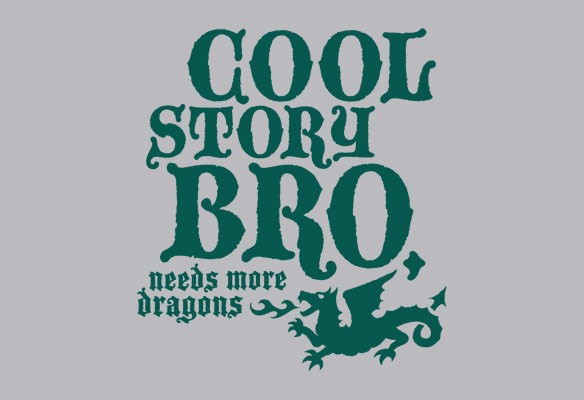 Cool Story Bro Needs More Dragons TShirt
