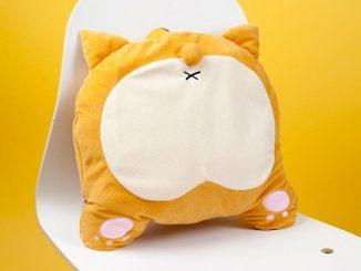 Corgi Butt USB Heated Pillow