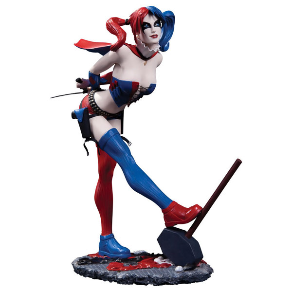 Cover-Girls-of-the-DC-Universe-New-52-Harley-Quinn-Statue