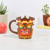 Crash Bandicoot Uka Uka Sculpted Mug