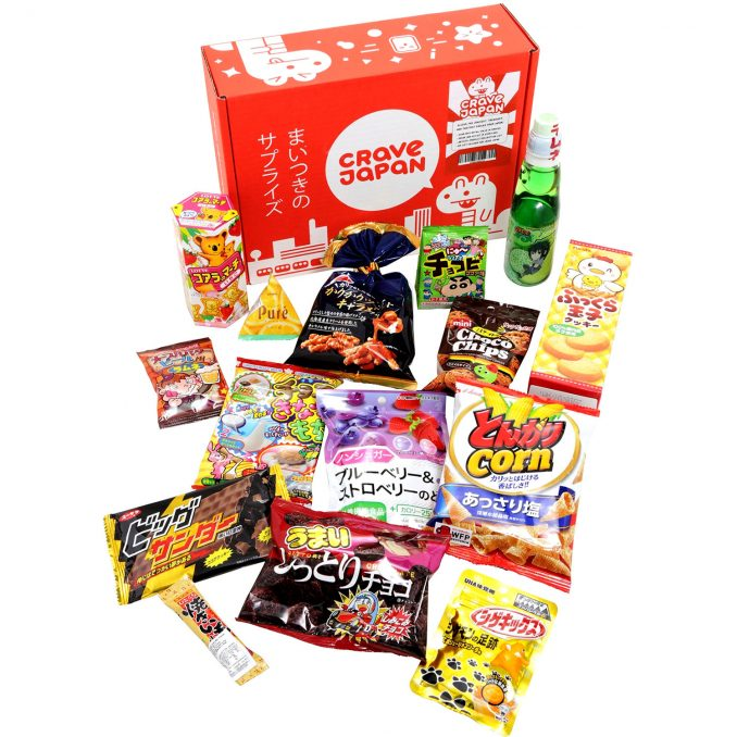 Crave Japan Snack Box