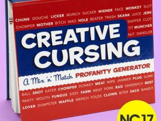 Creative Cursing Mix 'n' Match Profanity Generator