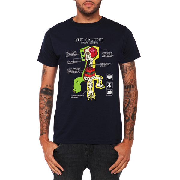 Creeper-Anatomy-T-Shirt