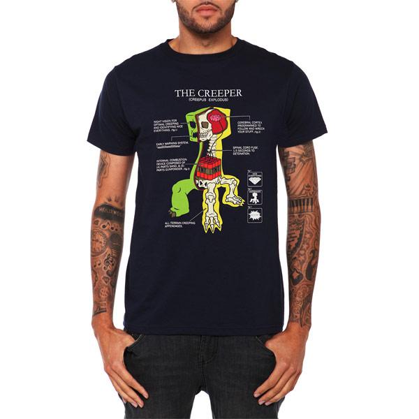 Creeper-Anatomy-T-Shirt