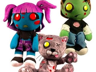 Creepy Cuddlers Zombies Plush Set
