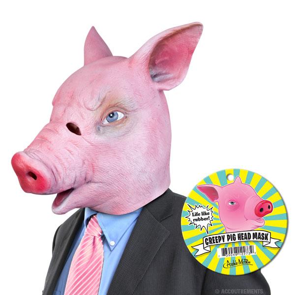 Creepy Pig Mask