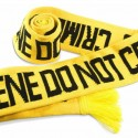 Crime Scene Do Not Cross Scarf