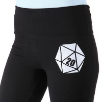 Critical Hit D20 Yoga Pants