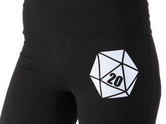 Critical Hit D20 Yoga Pants