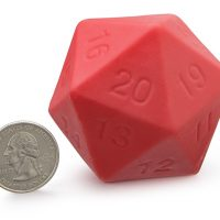 Critical Hit Giant Chocolate d20