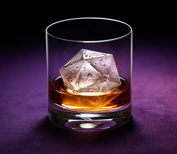 Critical Hit d20 Silicone Ice Mold