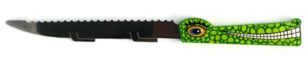 Crocodile Bread Knife