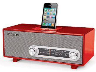Crosley Ranchero Retro iPhone Radio