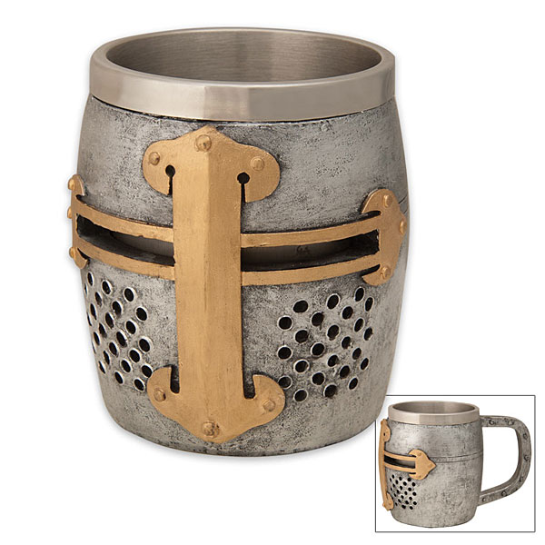 Crusader Helm Mug