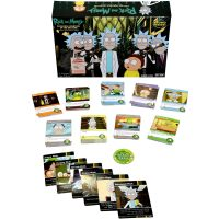 Cryptozoic Entertainment Close Rick-Counters of the Rick-Kind Game