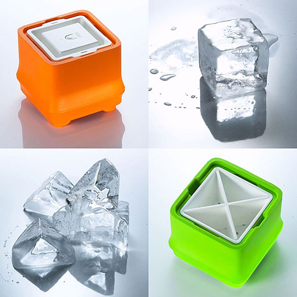 Crystal Clear Ice Cube Tray