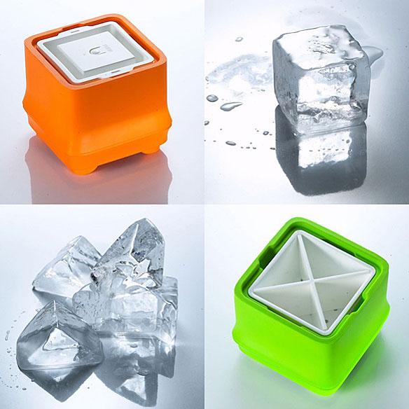 Crystal Clear Ice Cube Tray