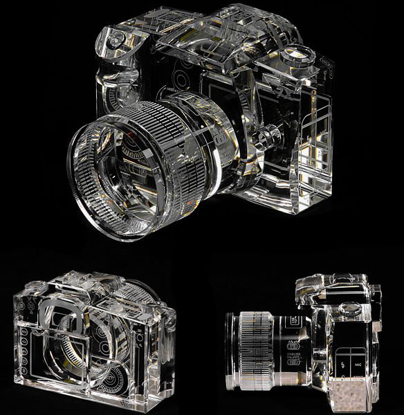 Crystal DSLR Camera