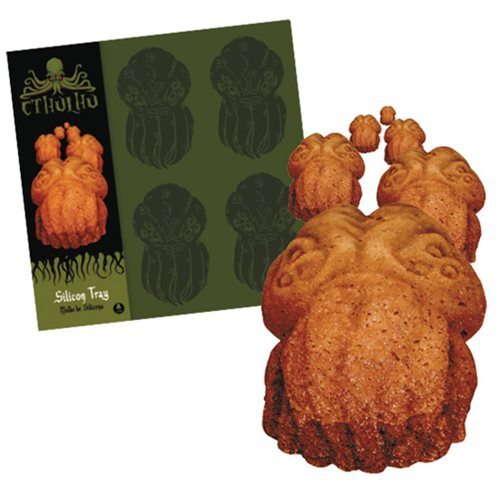 Cthulhu Cookies Silicone Baking Tray