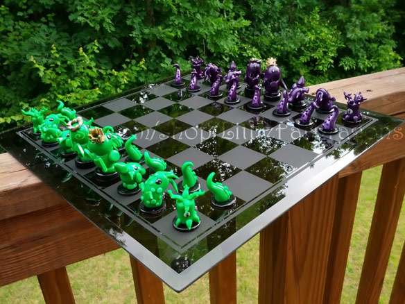 Cthulhu Custom Chess Set