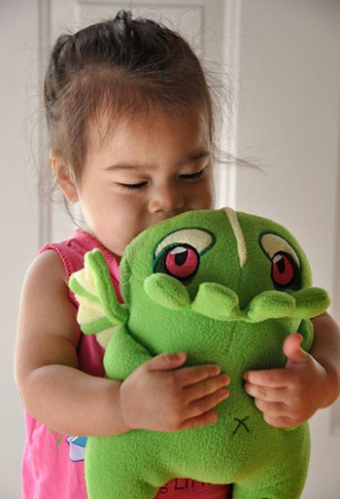 Cthulhu Plush Kid