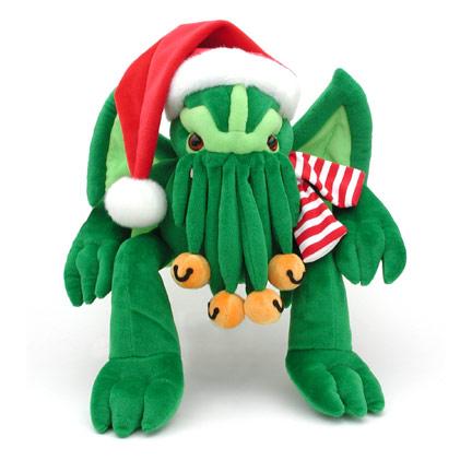 Cthulhu Santa Claus Plush