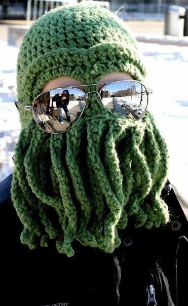 Cthulhu Ski Mask