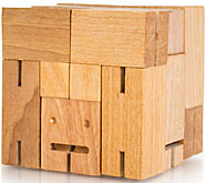 Cubebot Wood Robot