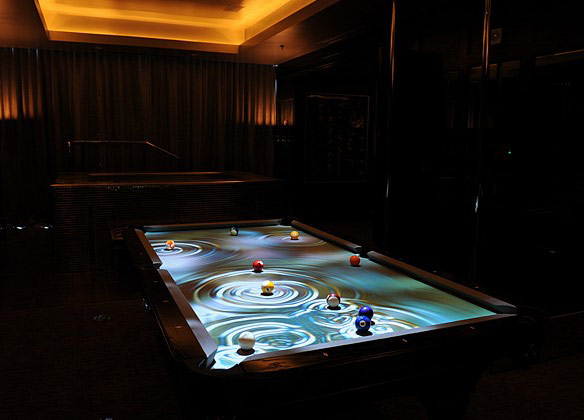 Etonnant CueLight Interactive Pool Table System
