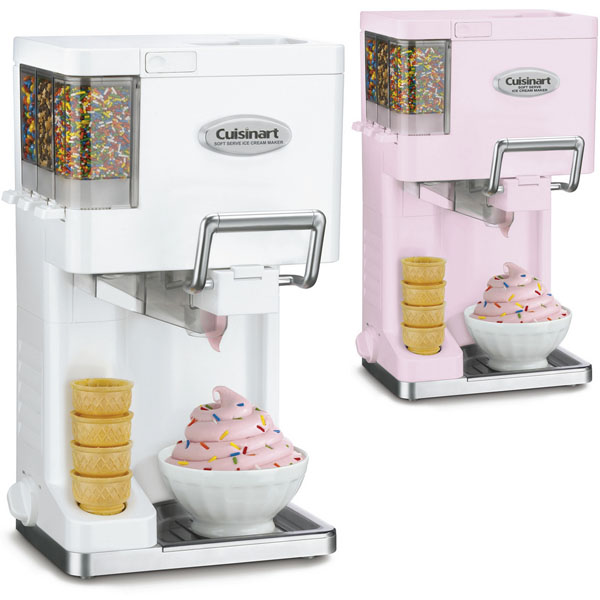cuisinart ice 45 soft serve ice cream maker. Black Bedroom Furniture Sets. Home Design Ideas