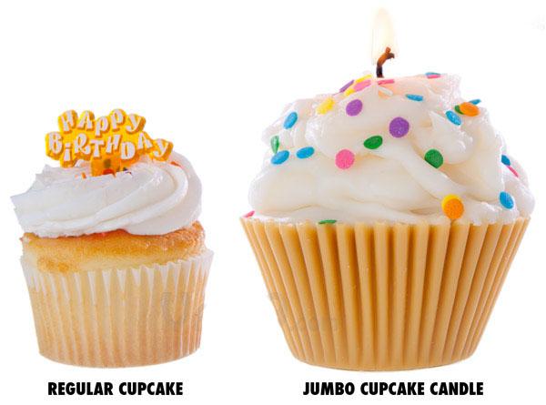 Cupcake Wax Candle