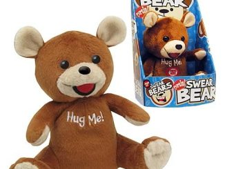 Cursin' Swear Bear Talking Plush