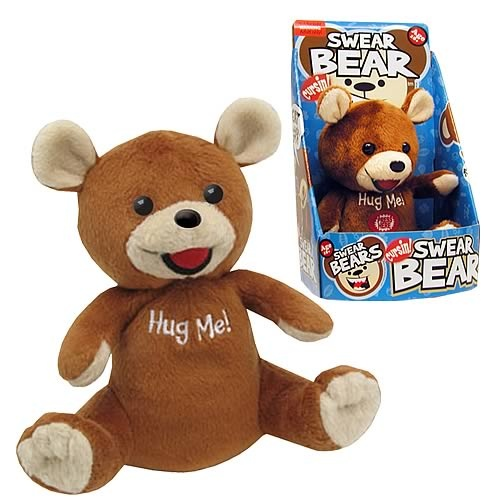 Cursin' Swear Bear Talking Plush