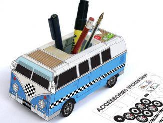 Custom Camper Pencil Holder