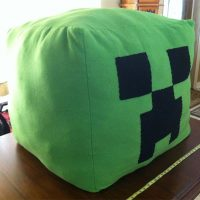 Custom Creeper Beanbag